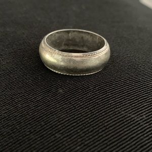 Vintage Sterling Silver Wedding Band